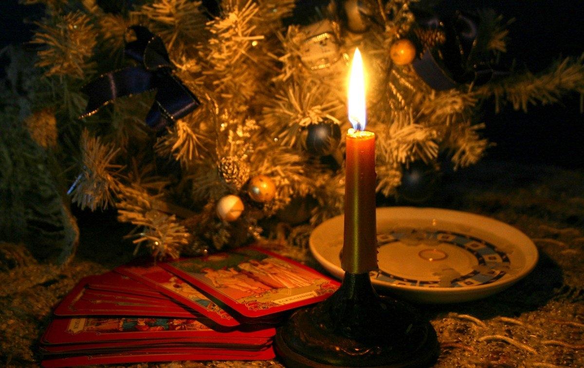 Лучшие рождественские и святочные гадания на картах